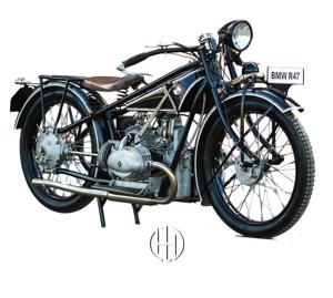 BMW R 47 (1927 - 1928) - Motodeks