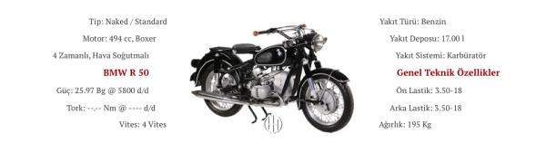 BMW R 50 (1955 - 1960) - Motodeks