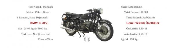 BMW R 50:2 (1960 - 1969) - Motodeks