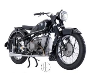 BMW R 51 (1938 - 1954) - Motodeks