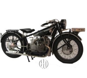 BMW R 52 (1928 - 1929) - Motodeks