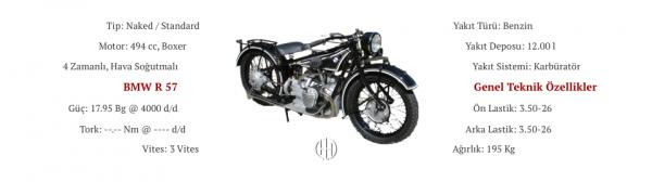 BMW R 57 (1928 - 1930) - Motodeks