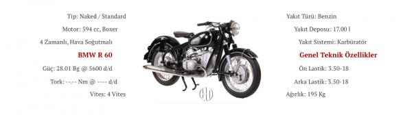 BMW R 60 (1956 - 1960) - Motodeks