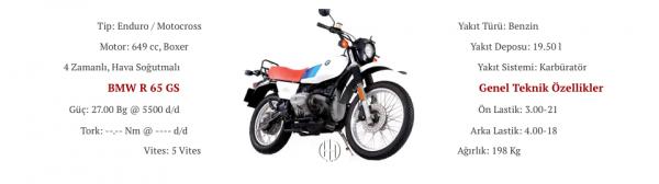 BMW R 65 GS (1987 - 1991) - Motodeks