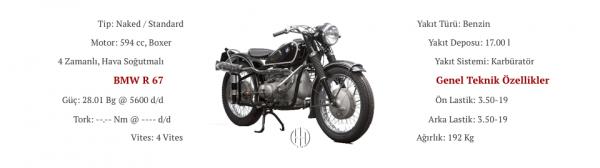 BMW R 67 (1951 - 1956) - Motodeks