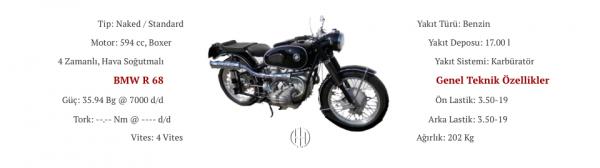 BMW R 68 (1952 - 1954) - Motodeks