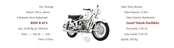 BMW R 69 S (1962 - 1969) - Motodeks