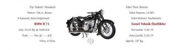 BMW R 71 (1938 - 1941) - Motodeks