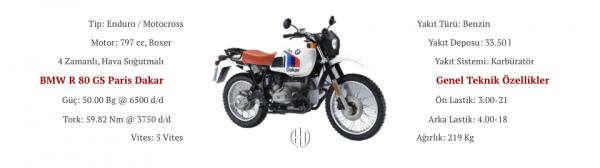BMW R 80 GS Paris Dakar (1984 - 1987) - Motodeks