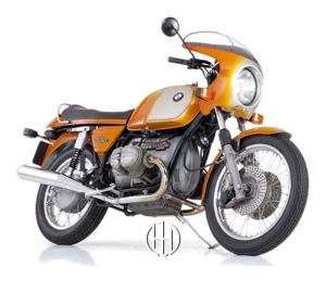 BMW R 90 S (1973 - 1976) - Motodeks
