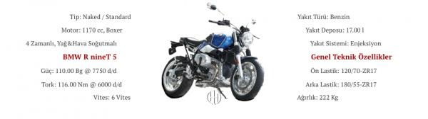 BMW R nineT 5 (2020 - XXXX) - Motodeks