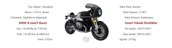 BMW R nineT Racer (2017 - 2019) - Motodeks