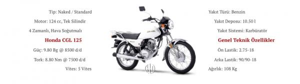 Honda CGL 125 (1976 - 2007) - Motodeks