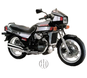 Honda CX 650 Turbo (1983) - Motodeks