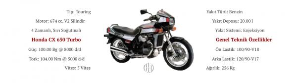 Honda CX 650 Turbo (1983) - Motodeks
