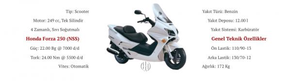 Honda Forza 250 (NSS) (2000 - 2004) - Motodeks