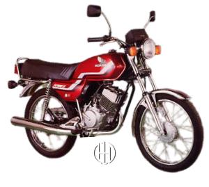 Honda H 100 S (1983 - 1992) - Motodeks