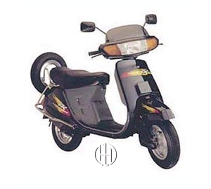 Honda Kinetic ZX (1984 - 1998) - Motodeks