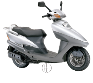 Honda Spacy 125 (1995 - 2008) - Motodeks