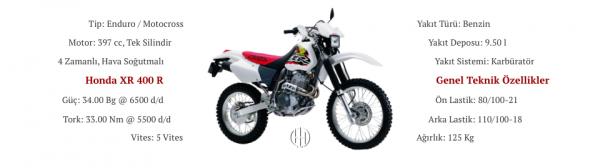 Honda XR 400 R (1996 - 2004) - Motodeks