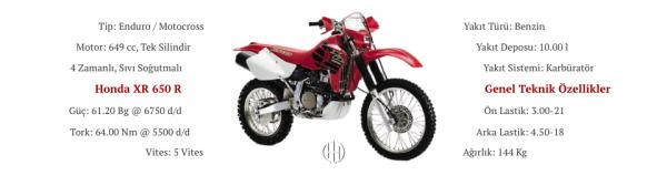 Honda XR 650 R (2000 - 2007) - Motodeks