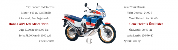 Honda XRV 650 Africa Twin (1988 - 1989) - Motodeks