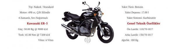 Kawasaki ER-5 (1997 - 2006) - Motodeks
