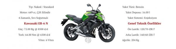 Kawasaki ER-6 N (2012 - 2017) - Motodeks