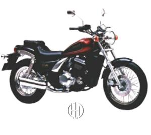 Kawasaki Eliminator EL 250 (1989 - 1993) - Motodeks