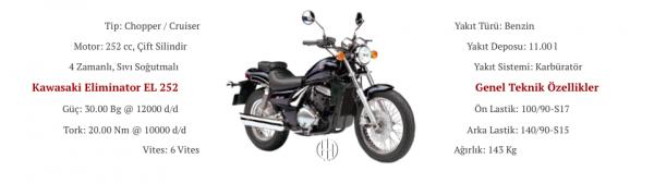 Kawasaki Eliminator EL 252 (1996 - 2001) - Motodeks