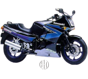 Kawasaki GPX 600 R Ninja (1988 - 1997) - Motodeks