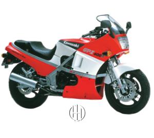 Kawasaki GPZ 400 R Ninja (1985 - 1989) - Motodeks