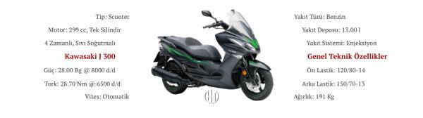 Kawasaki J 300 (2014 - XXXX) - Motodeks
