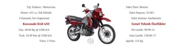 Kawasaki KLR 650 (1987 - 2007) - Motodeks