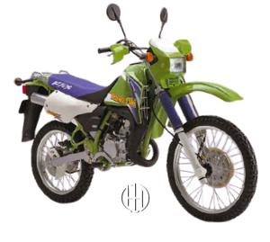 Kawasaki KMX 125 (1990 - 2002) - Motodeks