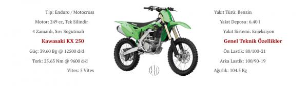 Kawasaki KX 250 (2019 - XXXX) - Motodeks