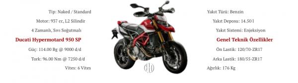 Ducati Hypermotard 950 SP (2019 - XXXX) - Motodeks