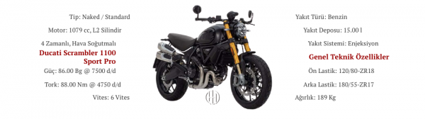 Ducati Scrambler 1100 Sport Pro (2020 - XXXX) - Motodeks
