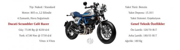 Ducati Scrambler Cafe Racer (2019 - XXXX) - Motodeks
