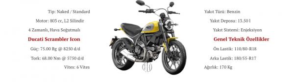 Ducati Scrambler Icon (2015 - 2018) - Motodeks