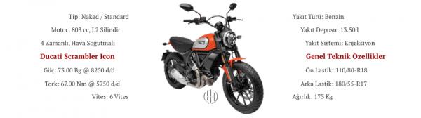 Ducati Scrambler Icon (2019 - XXXX) - Motodeks