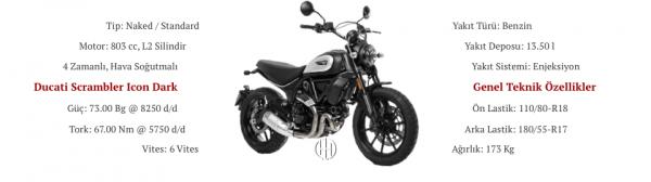 Ducati Scrambler Icon Dark (2020 - XXXX) - Motodeks