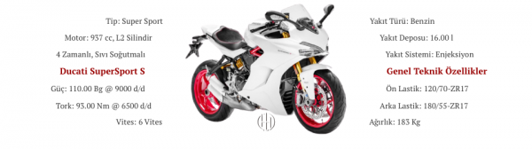 Ducati SuperSport S (2017 - XXXX) - Motodeks