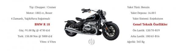 BMW R 18 (2021 - XXXX) - Motodeks