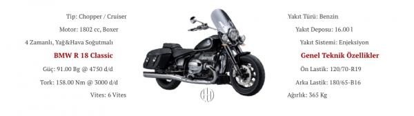BMW R 18 Classic (2021 - XXXX) - Motodeks
