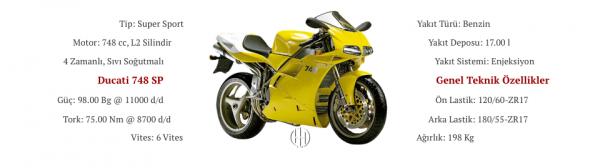 Ducati 748 SP (1995 - 1997) - Motodeks