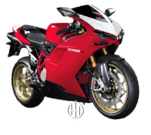 Ducati 1098 R (2008 - 2009) - Motodeks