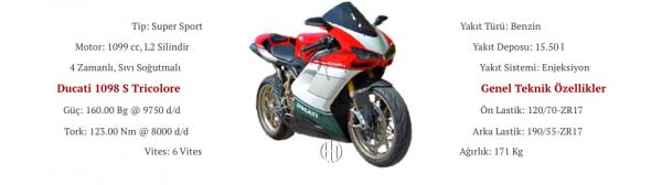 Ducati 1098 S Tricolore (2007) - Motodeks