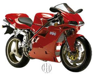 Ducati 996 Biposto (1999 - 2001) - Motodeks