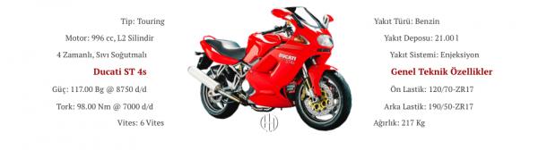 Ducati ST 4s (2001 - 2003) - Motodeks